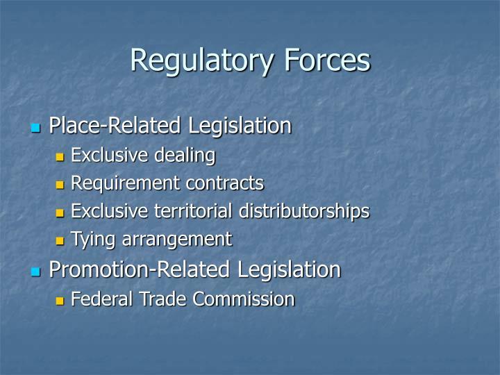 Regulatory Forces