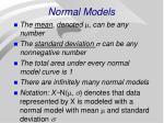 normal models