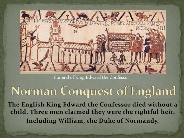 Funeral of King Edward the Confessor