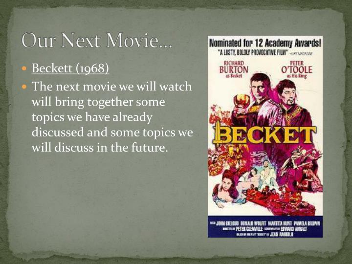 Beckett (1968)