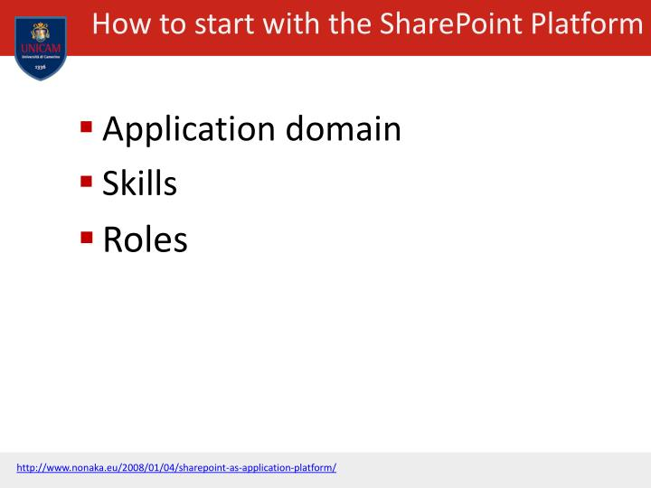 How to start with the SharePoint Platform