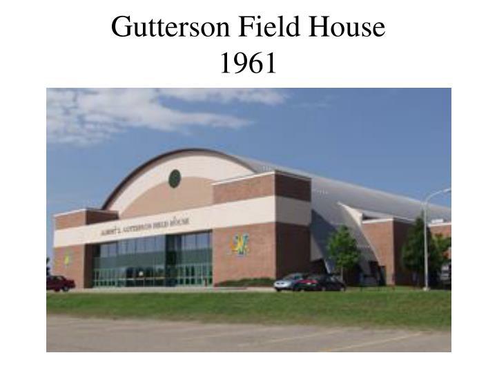 Gutterson Field House