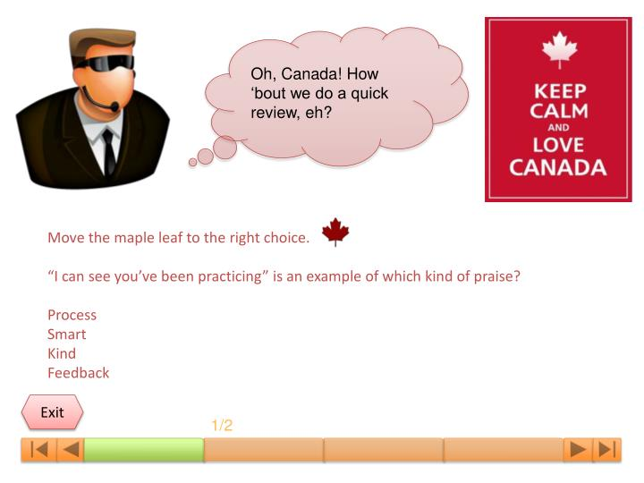Oh, Canada! How 'bout we do a quick review, eh?