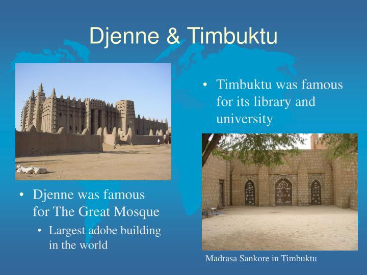 Djenne & Timbuktu