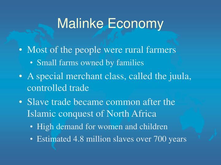 Malinke Economy