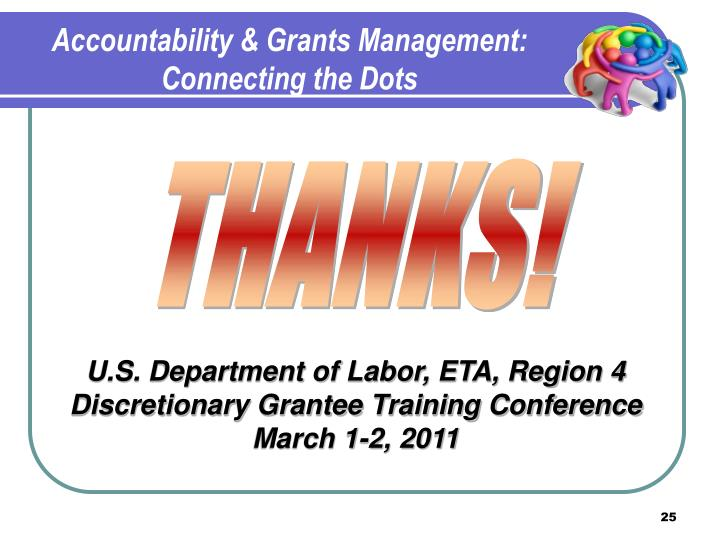 Accountability & Grants Management: Connecting the Dots
