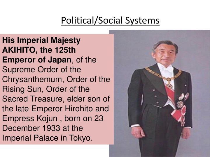 Political/Social Systems