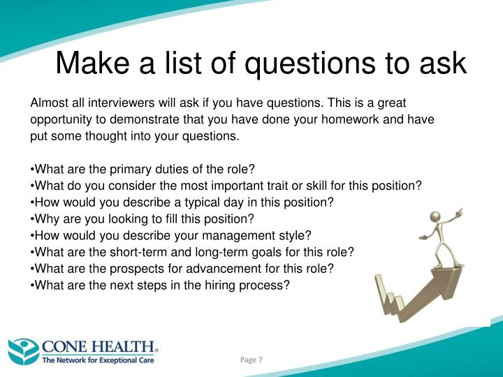 how to ask for questions in a presentation