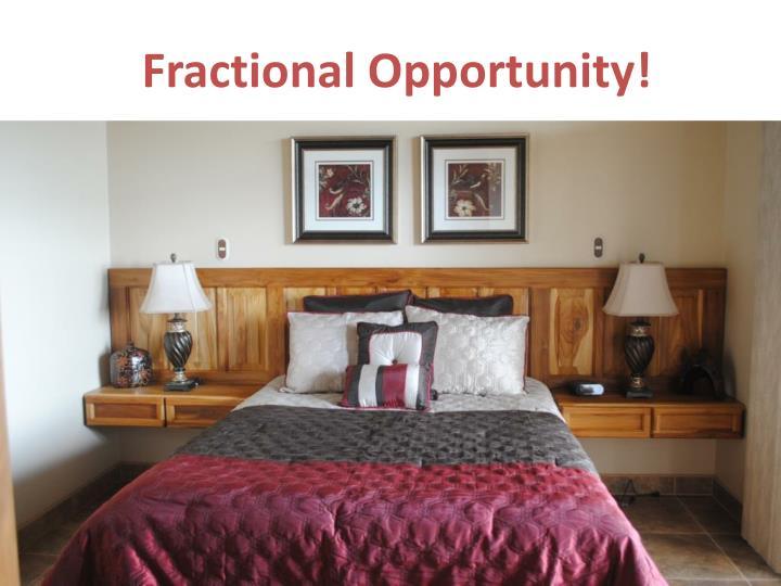 Fractional Opportunity!