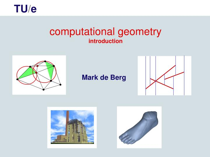 Computational geometry introduction