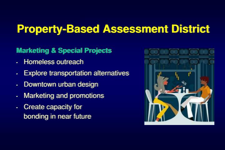 Property-Based Assessment District