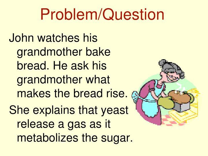 Problem/Question