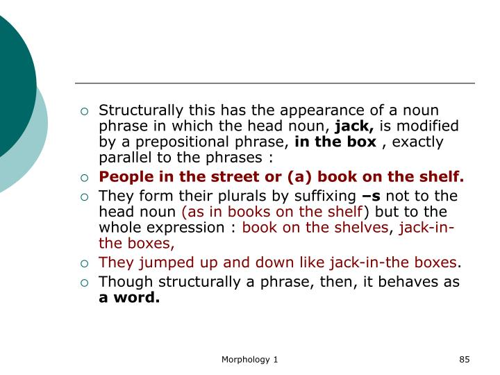 Structurally this has the appearance of a noun phrase in which the head noun,