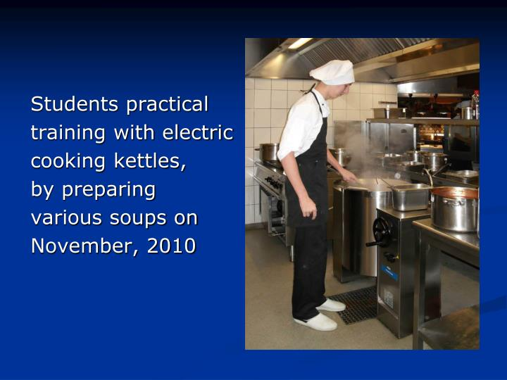 Students practical