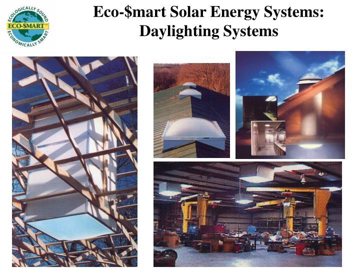 Eco-$mart Solar Energy Systems: