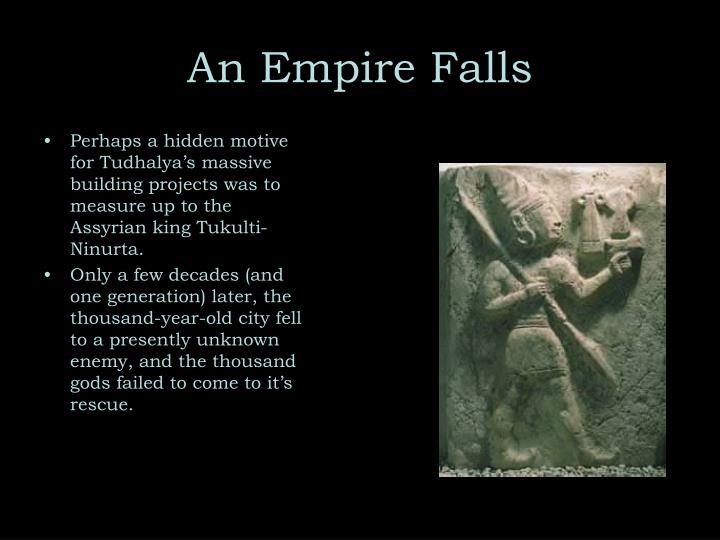 An Empire Falls