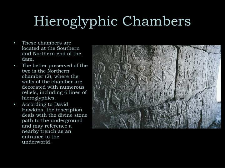 Hieroglyphic Chambers