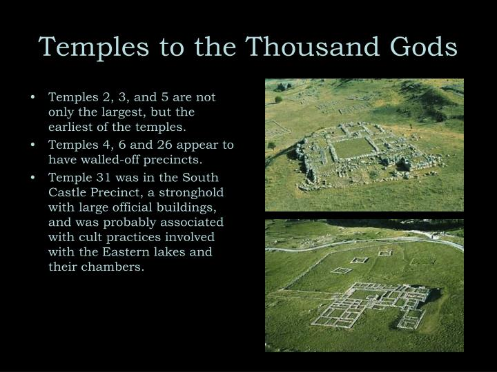Temples to the Thousand Gods