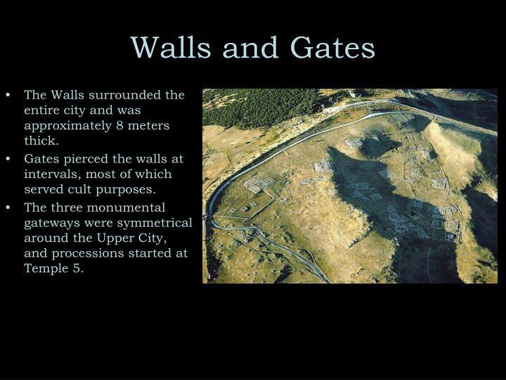 Walls and Gates