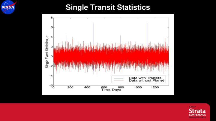 Single Transit Statistics