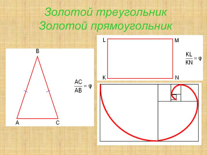 Золотой треугольник
