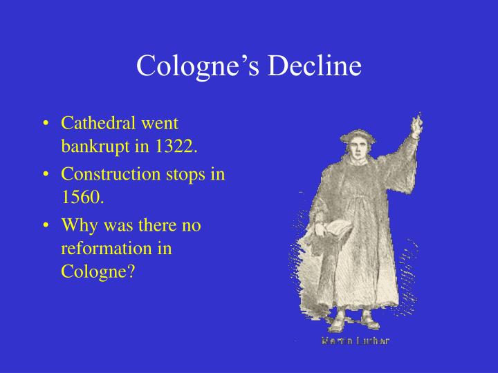 Cologne's Decline