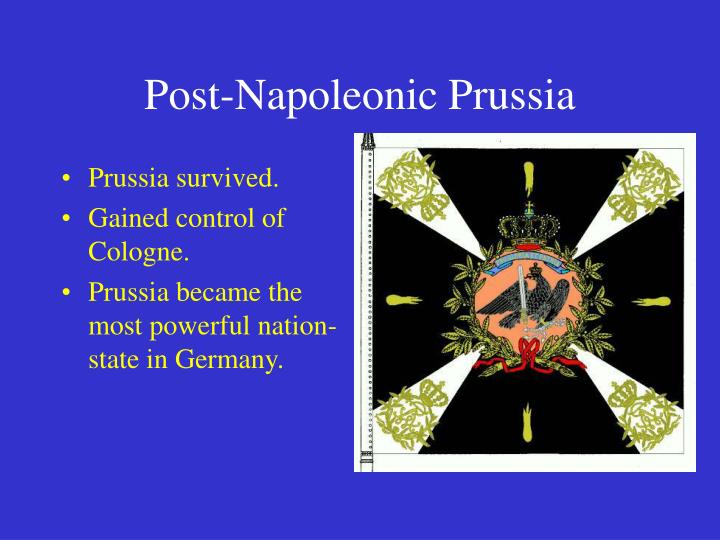 Post-Napoleonic Prussia