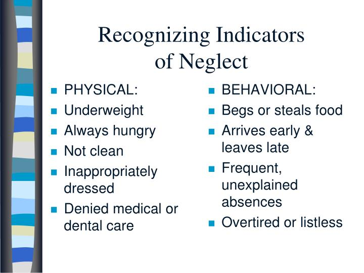 Recognizing Indicators