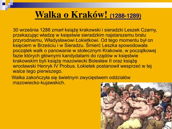 Walka o Kraków!