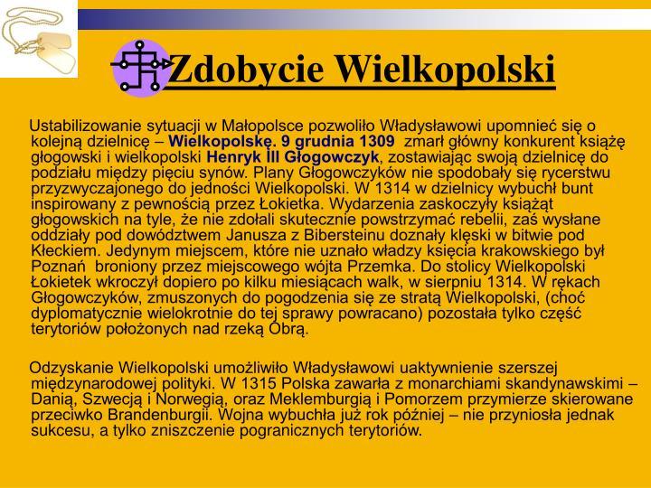 Zdobycie Wielkopolski