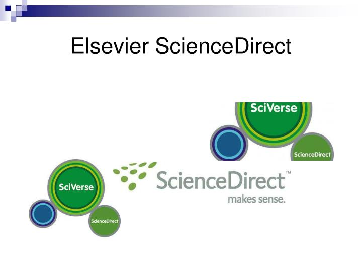 Elsevier ScienceDirect