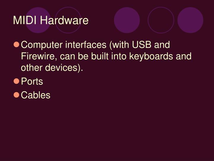 MIDI Hardware