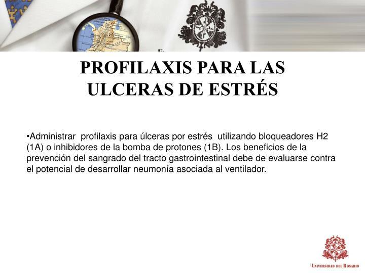 PROFILAXIS PARA LAS
