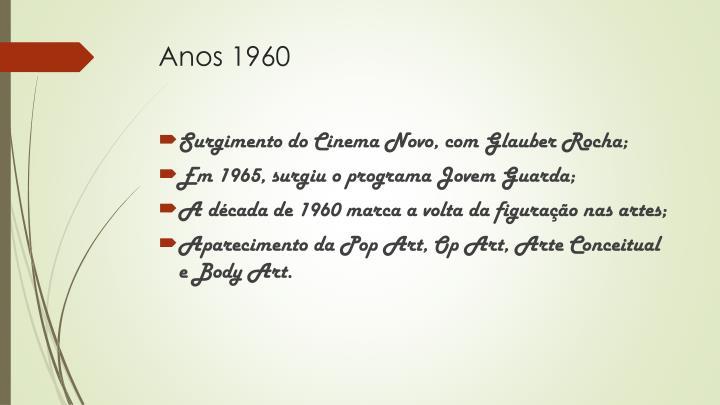 Anos 1960