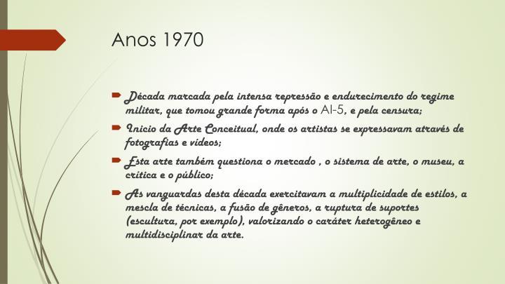Anos 1970
