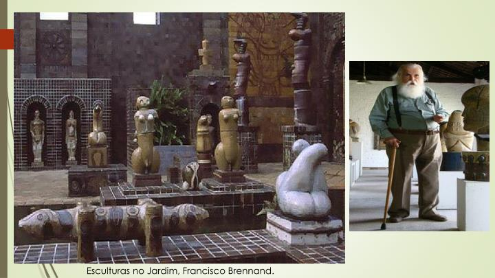 Esculturas no Jardim, Francisco Brennand.