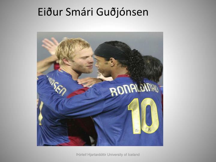 Eiður Smári Guðjónsen