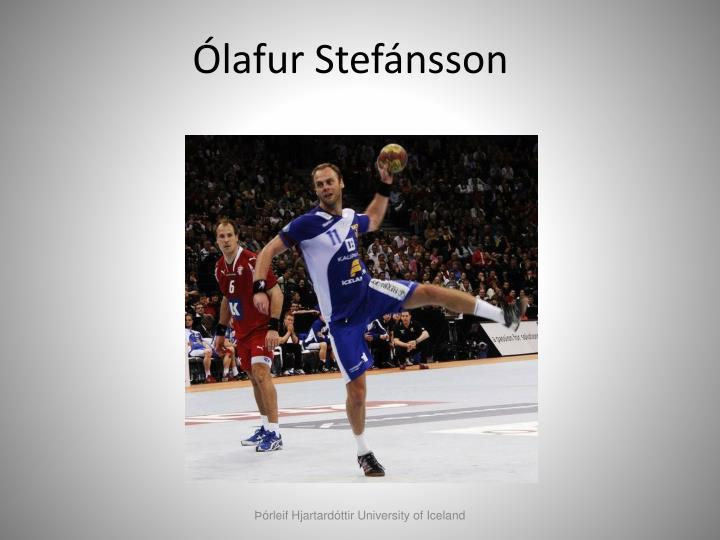 Ólafur Stefánsson