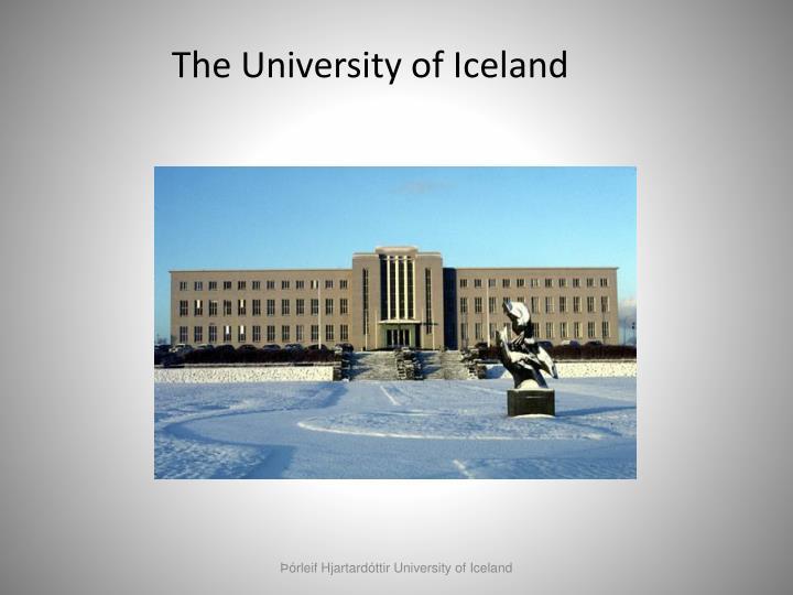 The University of Iceland