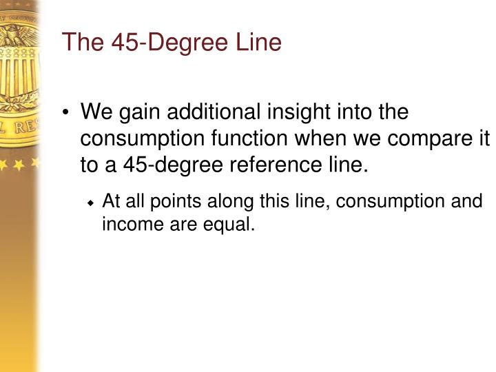 The 45-Degree Line