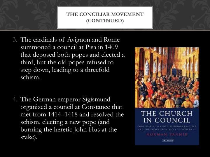 The Conciliar