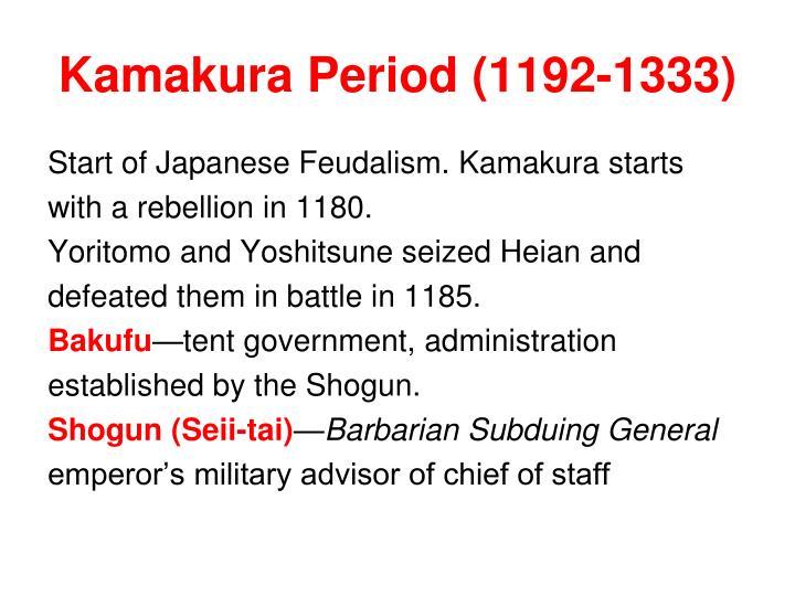Kamakura Period (1192-1333)