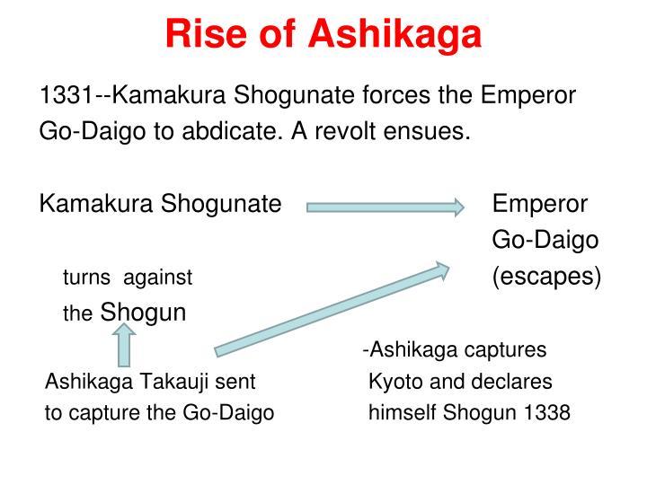 Rise of Ashikaga