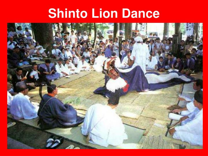 Shinto Lion Dance