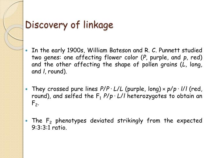Discovery of linkage