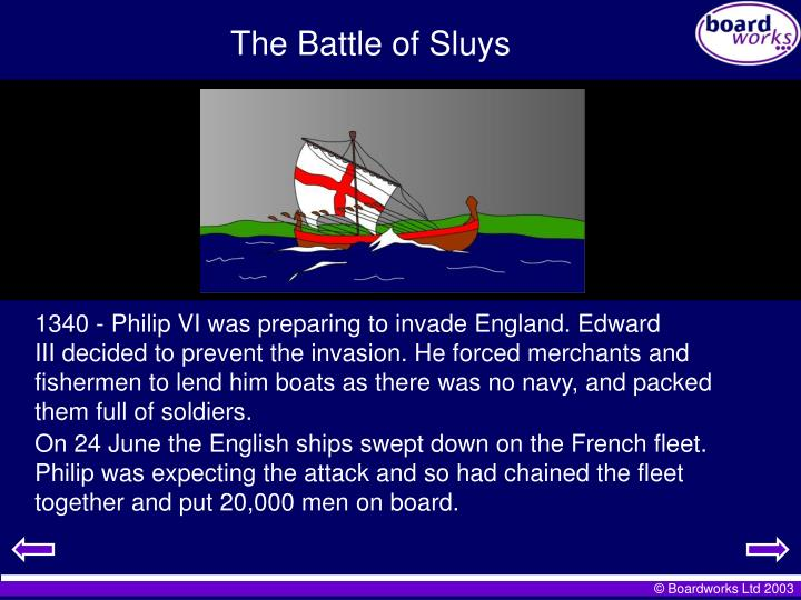 The Battle of Sluys