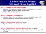 3 4 information access 3 5 work spanning ka3