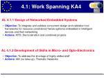 4 1 work spanning ka4