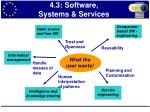 4 3 software systems services