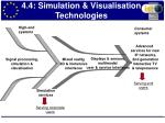 4 4 simulation visualisation technologies